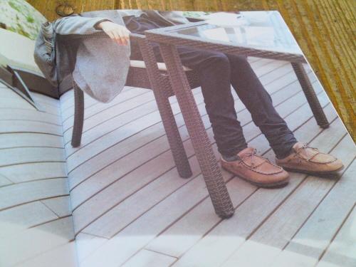 ビルケンシュトック TATAMIのカタログが届きました。
