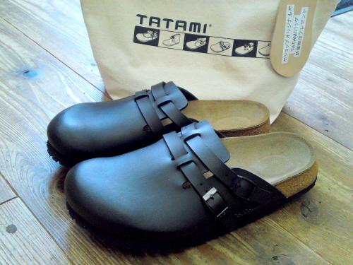 TATAMI、ブラックモデルの登場です。